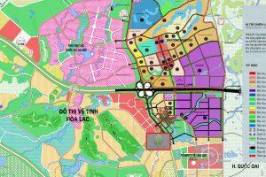 Duyệt quy hoạch siêu đô thị Hòa Lạc rộng 17.000ha
