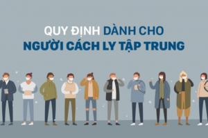 Dịch COVID-19: Ban Chỉ đạo hoả tốc yêu cầu thực hiện nghiêm quy định cách ly tập trung và quản lý sau cách ly