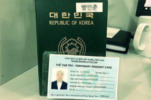 Xin cấp thẻ tạm trú cho Trưởng văn phòng đại diện tại Việt Nam