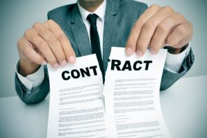 Các trường hợp hợp đồng vô hiệu