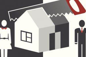 Sổ đỏ nhà đất đứng tên một người, ly hôn chia thế nào?
